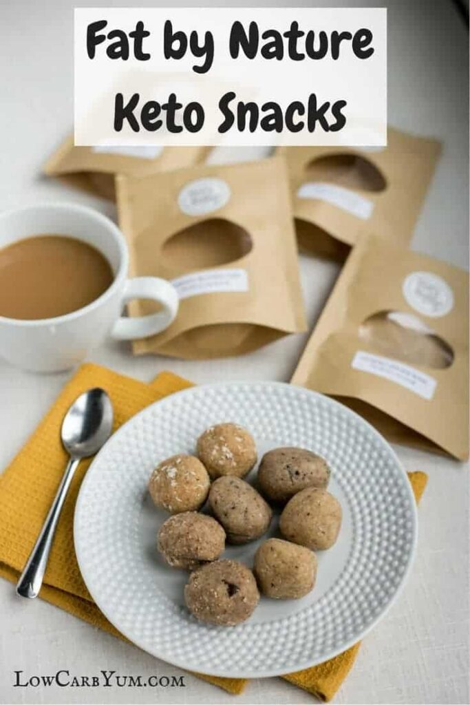 Fat by Nature Keto Snacks