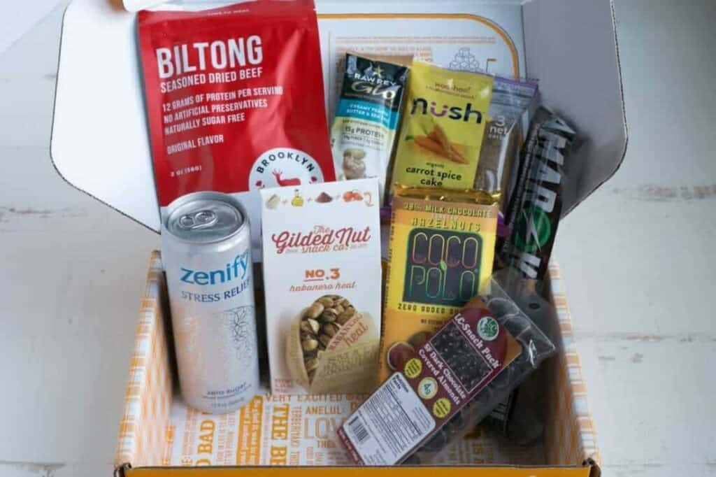 Low carb subscription box featured