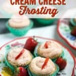 Low carb cupcakes cream cheese frosting cover