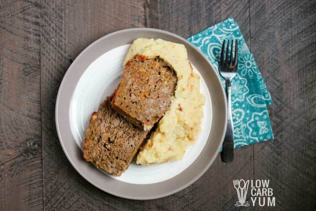 Ketoned Bodies low carb meal delivery meatloaf