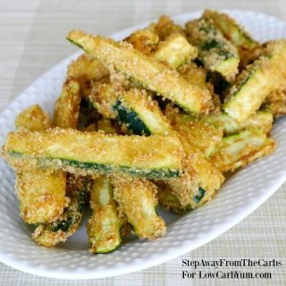 Low Carb Zucchini Fries Recipe – Gluten Free