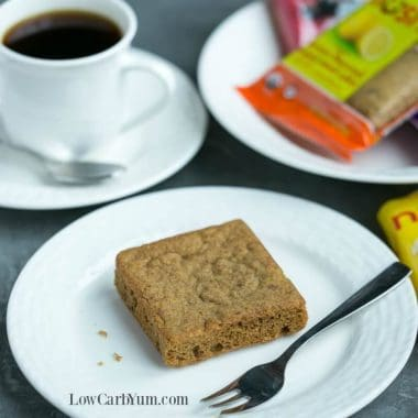 Nush low carb snack cakes square image