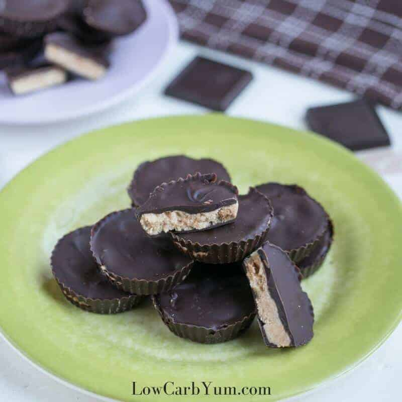 Low Carb Sugar Free Peanut Butter Cups Recipe