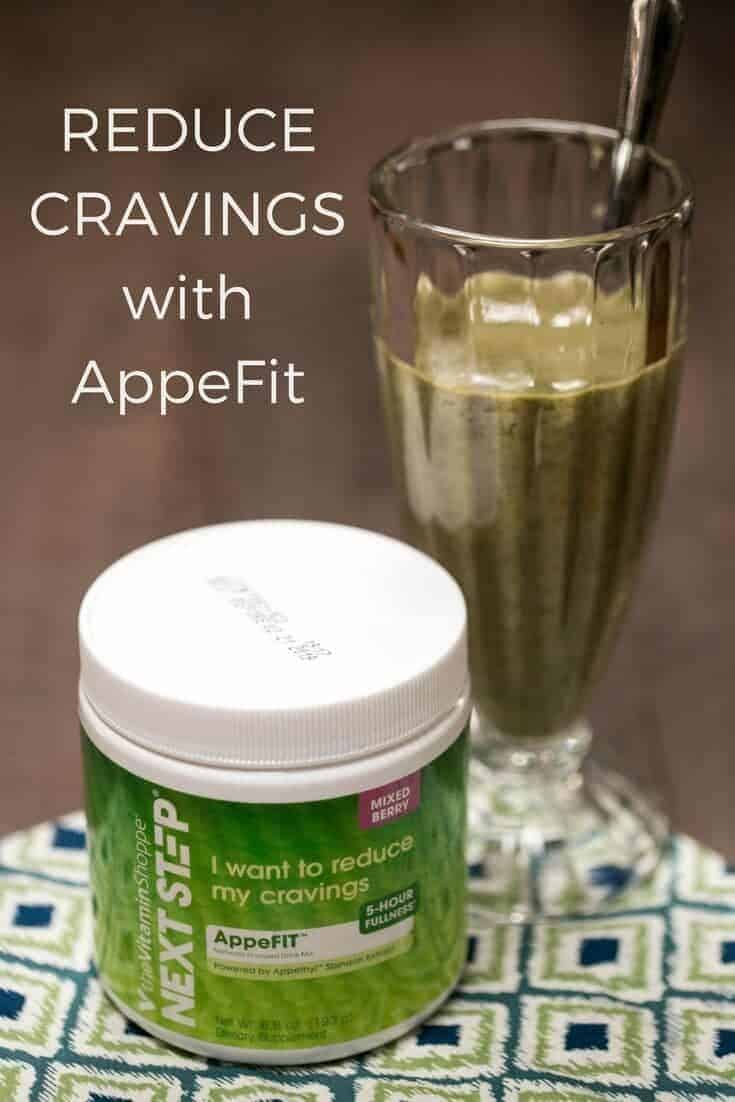 Having issues with craving control? AppeFIT by Next Step can help reduce cravings for about 5 hours. It tastes great and is suitable for a low carb diet. #NextStep #ad | LowCarbYum.com