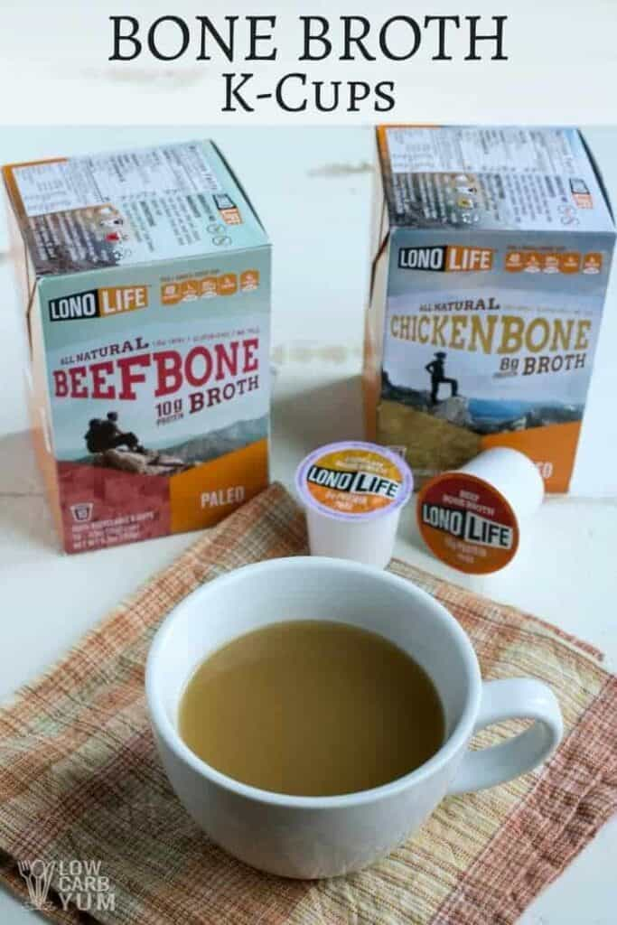 LonoLife bone broth k-cups cover