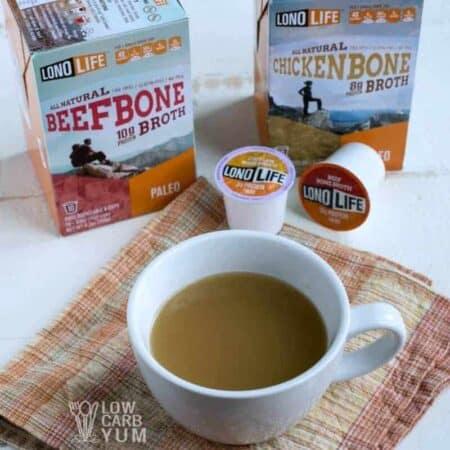 LonoLife bone broth k-cups featured