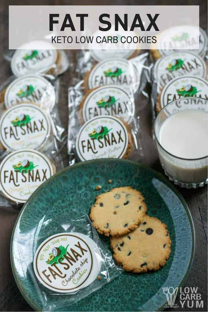 Paleo keto Fat Snax cookies review