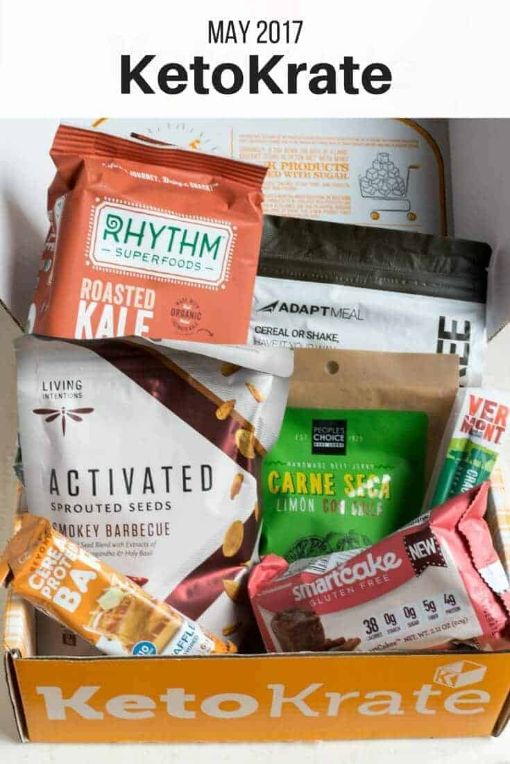 Who wouldn't want a great selection of low carb products delivered straight to their door each month? With Keto Krate, you'll get just that. | LowCarbYum.com