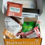 Low carb products Keto Krate unboxing