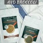 Dehydrated cauliflower rice and broccoli rice by Keto and Co