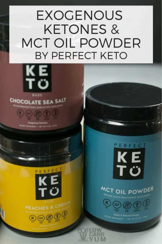 Perfect Keto exogenous ketones BHB salts keto powder