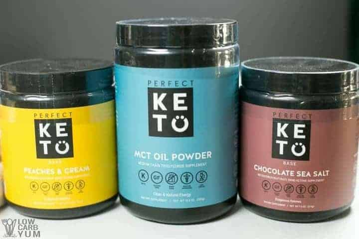 Perfect Keto exogenous ketones BHB salts keto powder supplements