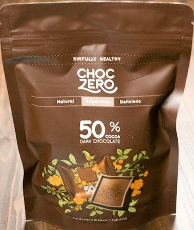 Keto Delivered review Choc Zero