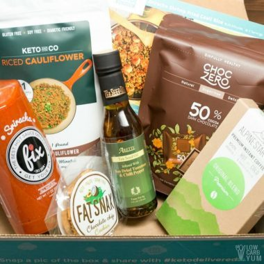 Keto Delivered Review – Low Carb Subscription Box
