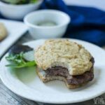 Simple hamburger low carb buns psyllium bread rolls