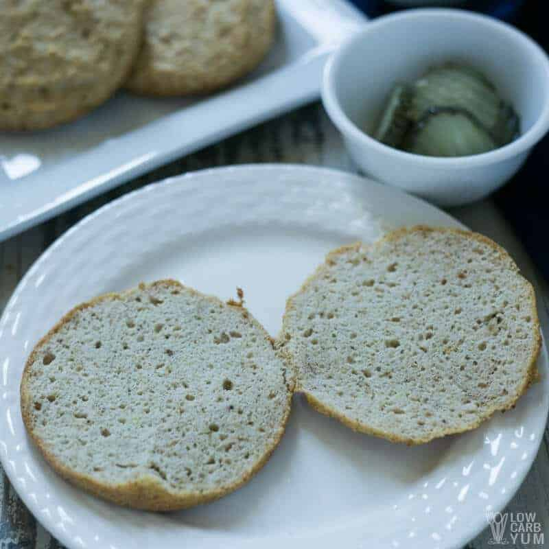 Low carb hamburger buns - Happy gastro | ketogenic Recipes