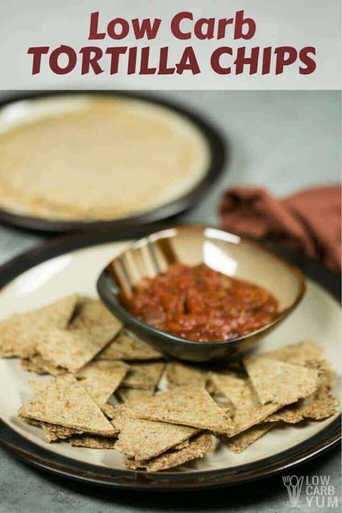 Easy low carb tortilla chips recipe