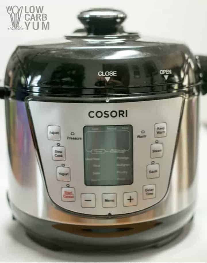 Cosori 2 quart pressure cooker hard boiled eggs review