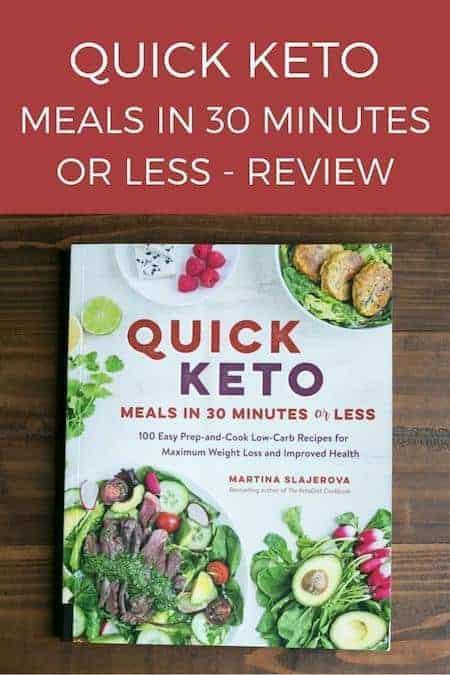 Quick Keto Meals Cookbook by Martina Slajerova Review