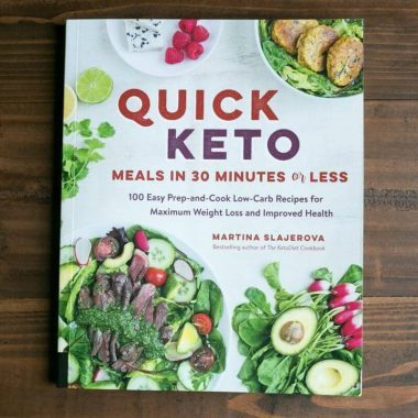 Quick Keto Meals Cookbook by Martina Slajerova