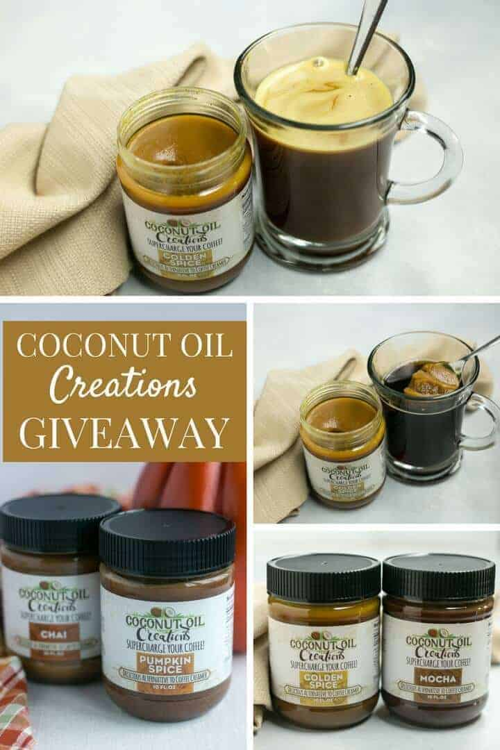 Coconut Oil Coffee Creamer Giveaway