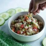 Easy cucumber salsa recipe