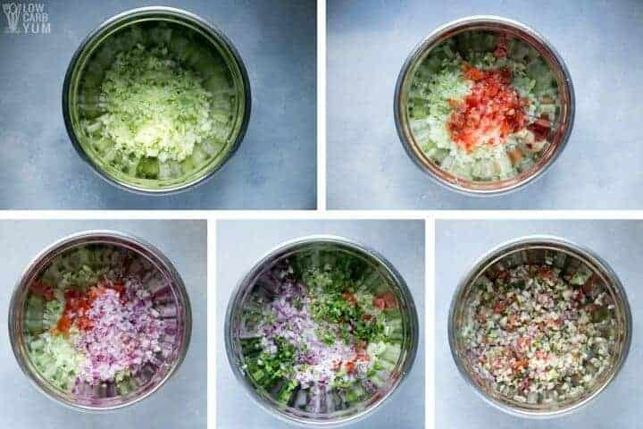 How to make a cucumber salsa