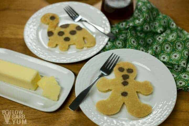 Fun pancake art shapes