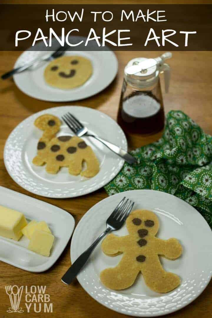 How to make pancake art the easy way