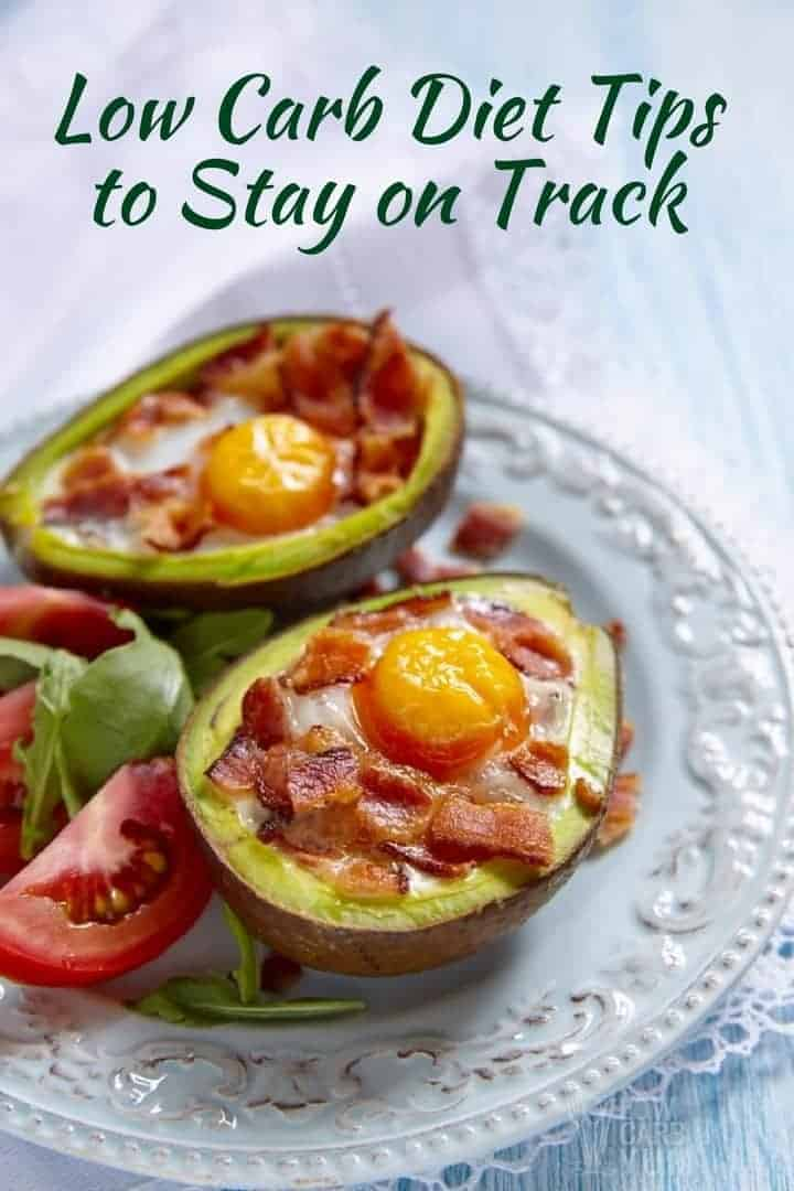Low carb diet tips to stay on track