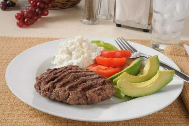 Low carb diet tips sirloin dinner