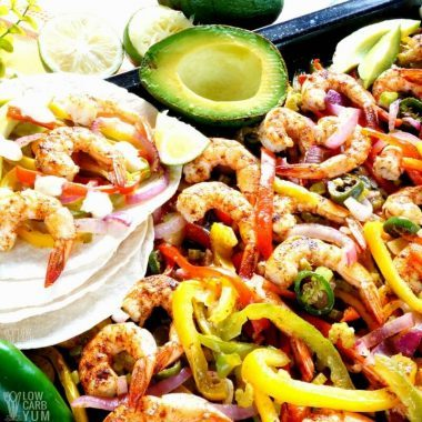 low carb fajitas