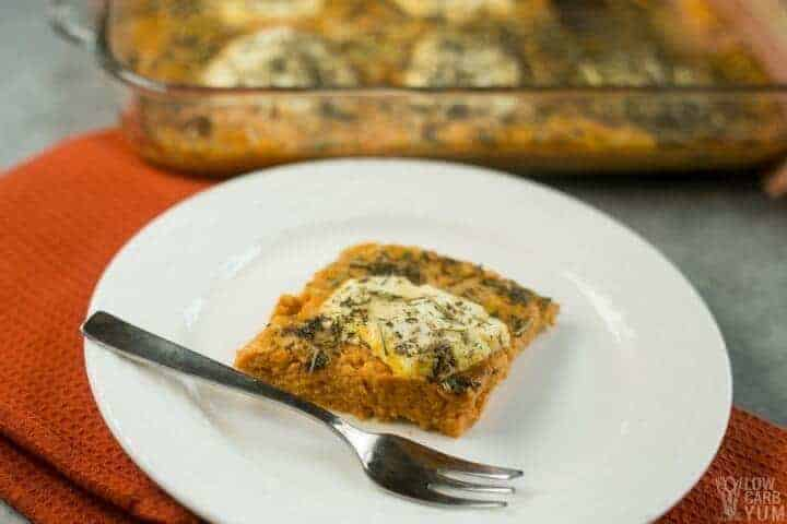 Savory pumpkin casserole recipe low carb gluten free