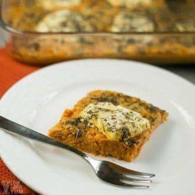 Savory pumpkin casserole recipe