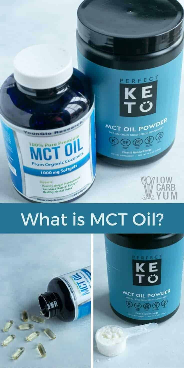 For those on a keto diet, MCT oil has become a staple for making high fat coffee and more. What is MCT oil made from and where does it come from? | LowCarbYum.com