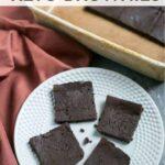5 ingredient keto brownies recipe