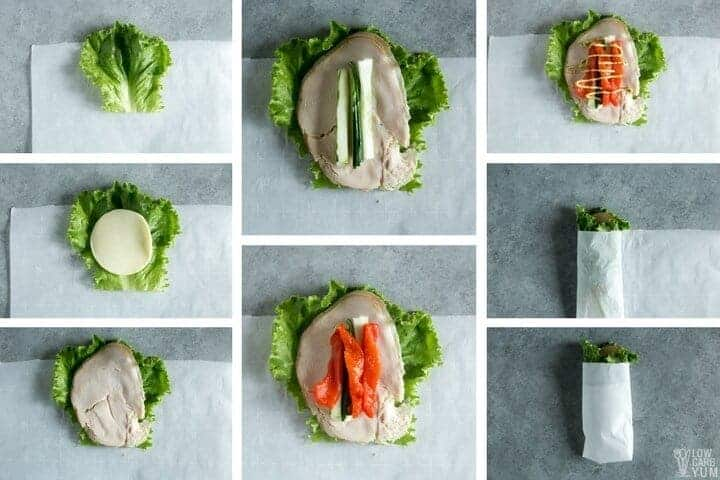 How to make low carb lettuce wraps