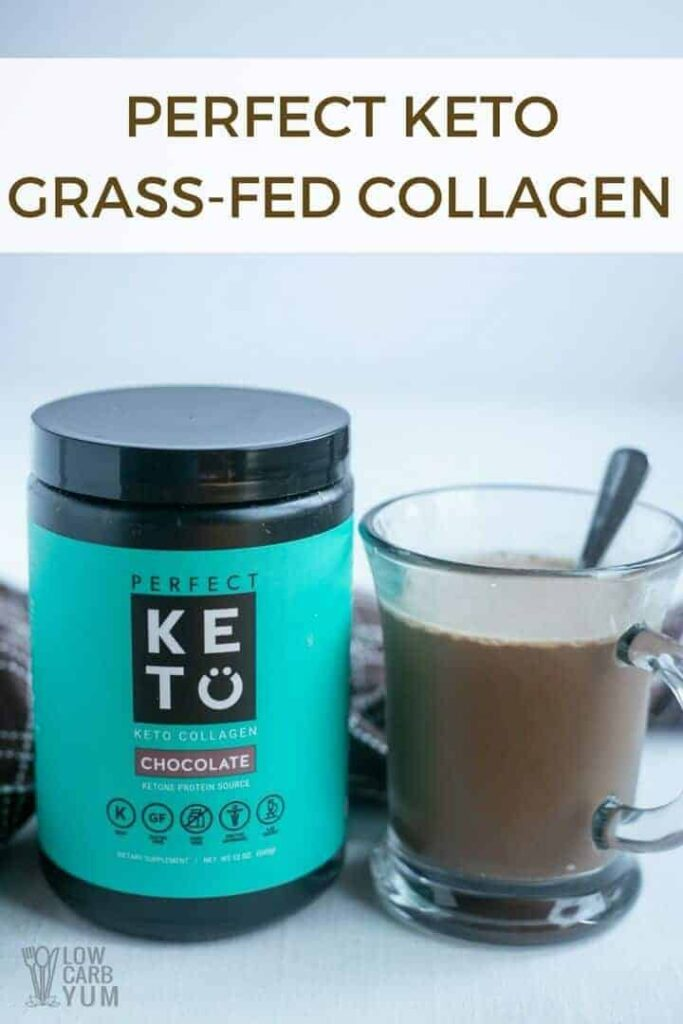 Perfect Keto grass-fed collagen