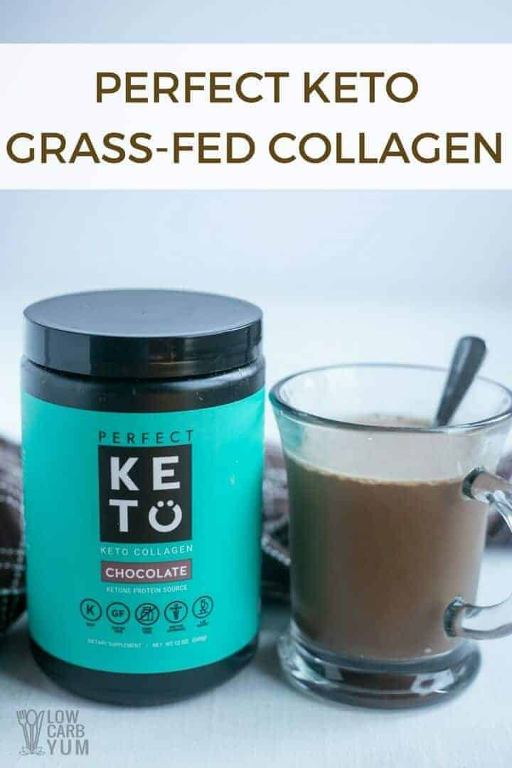 Perfect Keto grass fed collagen