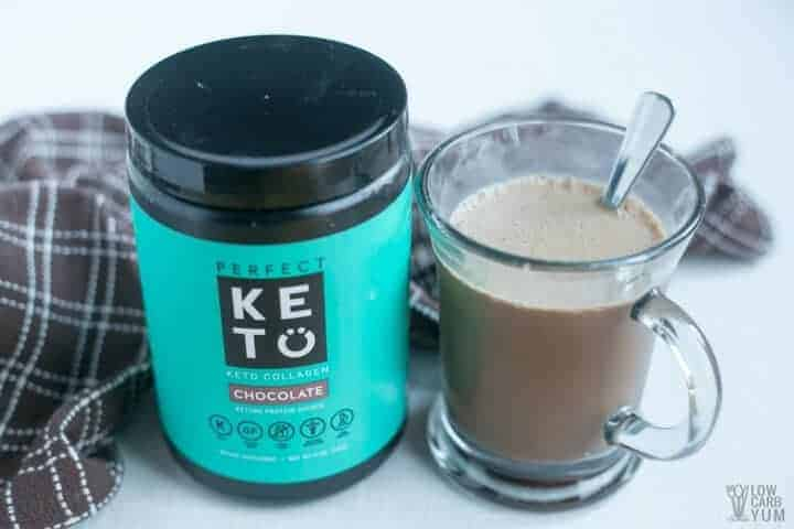 Perfect Keto grass fed collagen supplement