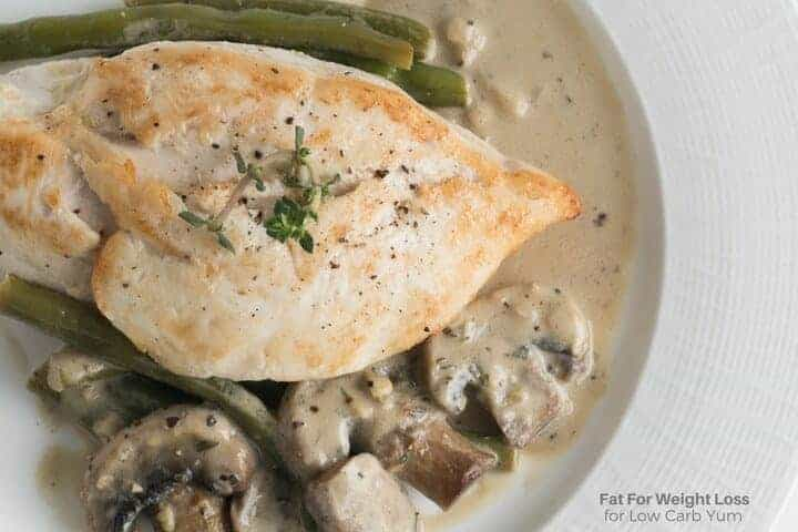 Easy to make chicken in white sauce recipe