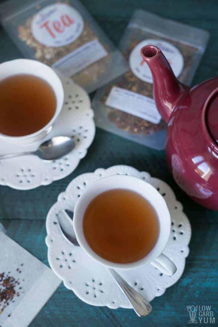 Drinking the best loose leaf tea brands