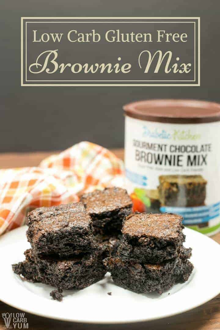 Gourmet low carb brownie mix