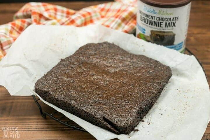 Easy low carb brownie mix