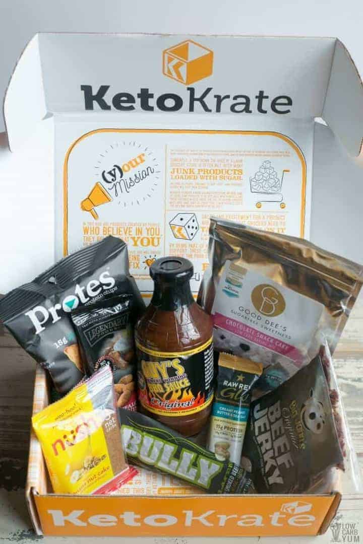 October 2017 Keto Krate unboxing cover