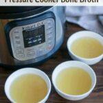 Instant Pot bone broth pressure cooker recipe