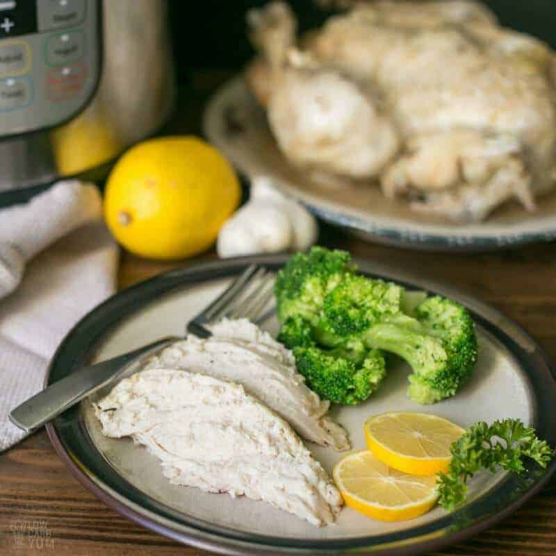 Pressure Cooker Whole Chicken In The Instant Pot
