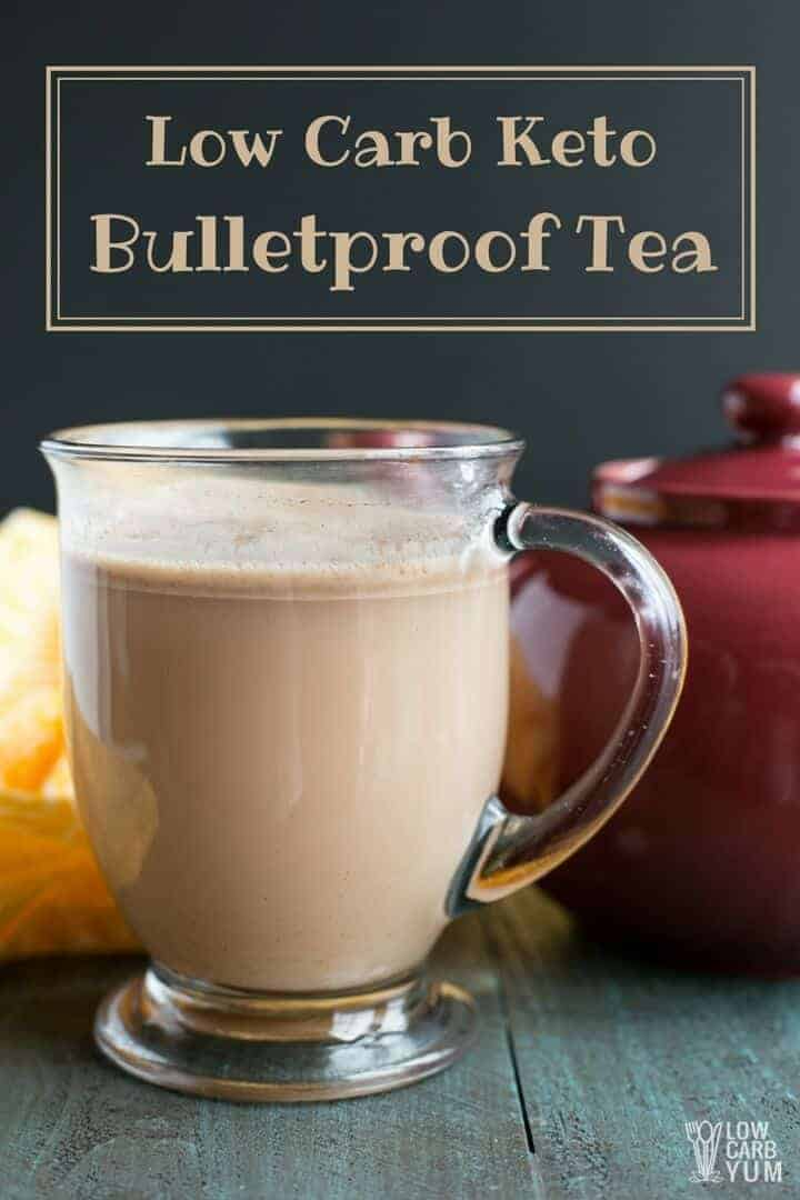 Low carb keto bulletproof tea