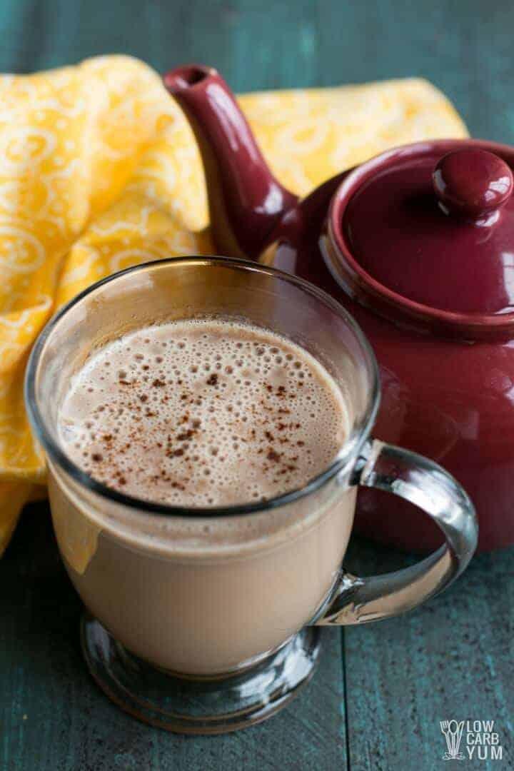 Keto low carb bulletproof tea