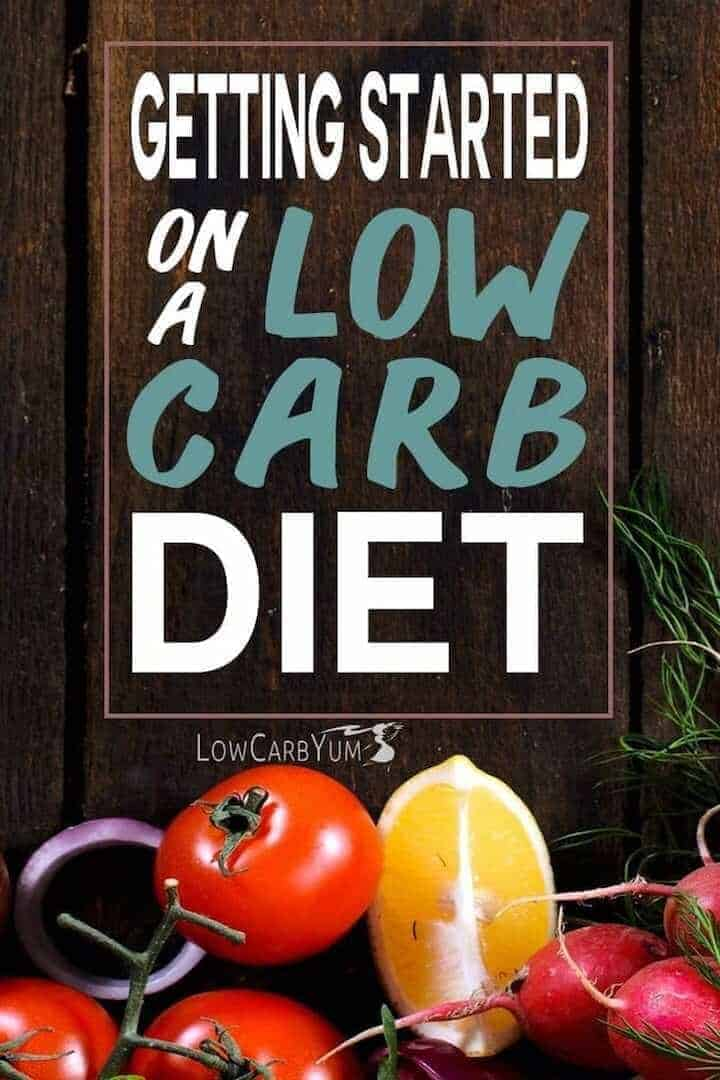 How to start a low carb diet plan successfully cover